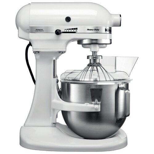 Миксер KitchenAid 5KPM5EWH, белый kitchenaid миксер ручной серебристый 5khm9212ecu kitchenaid