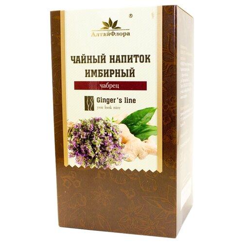 Чайный напиток травяной АлтайФлора Имбирный с чабрецом в пакетиках, 20 шт.