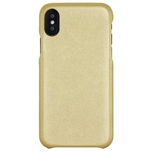 Купить Чехол G-Case Slim Premium для Apple iPhone X/Xs золотой