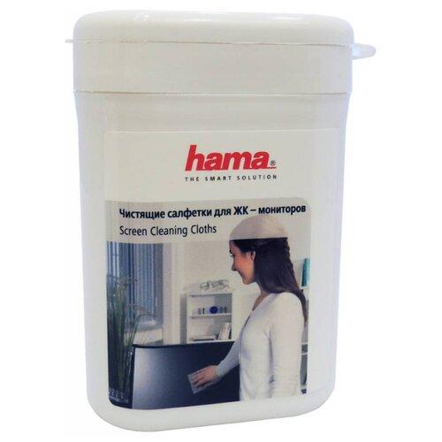HAMA Screen Cleaning Cloths влажные салфетки 100 шт. для экрана, для ноутбука