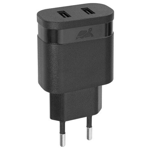 Сетевая зарядка RIVACASE Rivapower VA4123 черныйЗарядные устройства и адаптеры<br>
