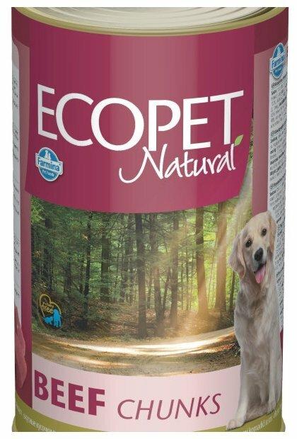 Корм для собак Farmina Ecopet говядина 1.25 кг