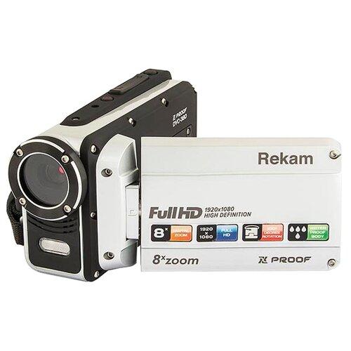 Фото - Видеокамера Rekam Xproof DVC-380 белый видеокамера rekam dvc 340 black