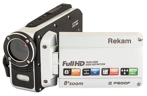 Сравнение с Видеокамера Rekam Xproof DVC-380