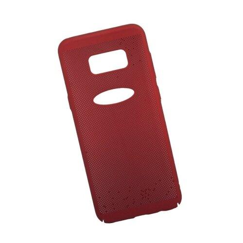 Чехол Liberty Project Сетка Soft Touch для Samsung S8 Plus красный