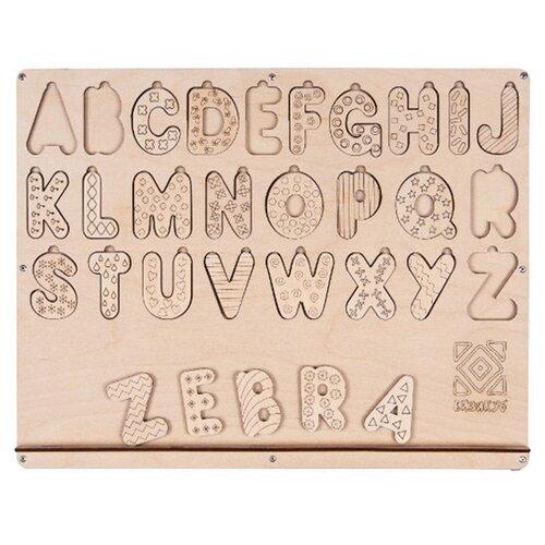 Набор букв Бизикуб Алфавит английский деревянные игрушки бизикуб алфавит русский с цифрами и знаками