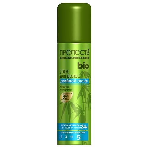 Прелесть Professional Лак для волос Bio Двойной объём, экстрасильная фиксация, 160 млЛаки и спреи<br>
