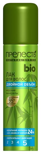 Купить Прелесть Professional Лак для волос Bio Двойной объём морские минералы, экстрасильная фиксация, 160 мл по низкой цене с доставкой из Яндекс.Маркета (бывший Беру)