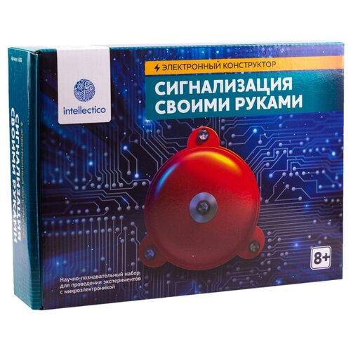Купить Набор Intellectico Электронный конструктор. Сигнализация своими руками (1006), Наборы для исследований
