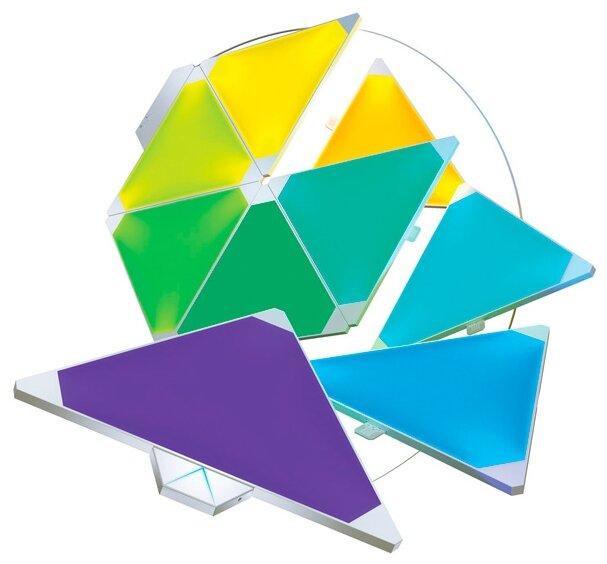 Система освещения Nanoleaf Aurora c дополнительным модулем Nanoleaf Rhythm