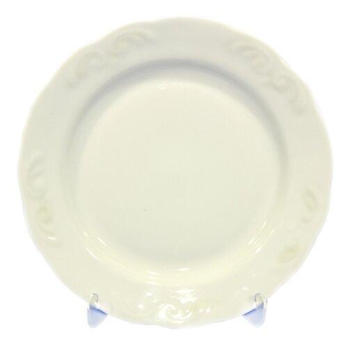 Добрушский фарфоровый завод Тарелка мелкая Надежда белое изделие 200 мм добрушский фарфоровый завод тарелка мелкая надежда розовая нежность 200 мм