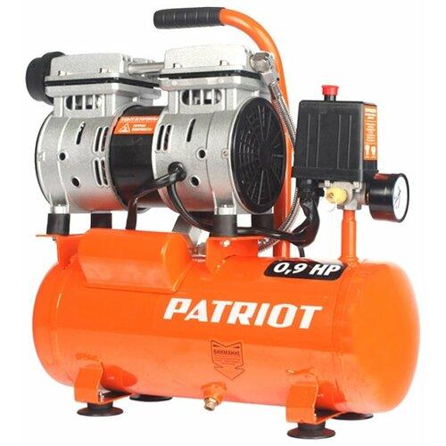 Компрессор безмасляный PATRIOT WO 10-120, 10 л, 0.65 кВт воздушный компрессор patriot ptr 80 260а