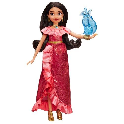 Купить Интерактивная кукла Hasbro Disney Елена - принцесса Авалора и Зузо, 28 см, E0108, Куклы и пупсы