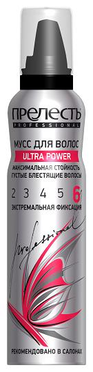 Прелесть Professional мусс Ultra Power