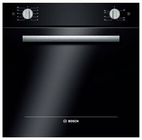 Духовой шкаф газовый Bosch HGN10G060 (черный)