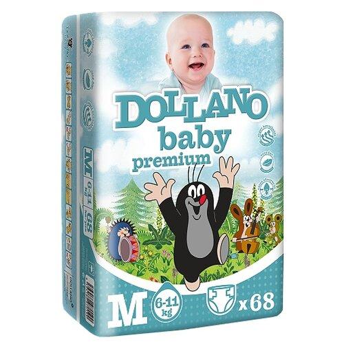 Dollano Baby подгузники Premium M (6-11 кг) 68 шт.Подгузники<br>