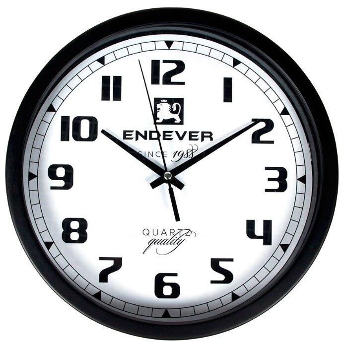 Часы настенные кварцевые ENDEVER RealTime-111