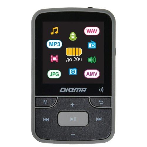 Плеер DIGMA Z4 16GB черный/серый