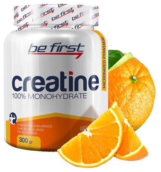 Креатин Be First Micronized Creatine Monohydrate Powder (300 г) лимон