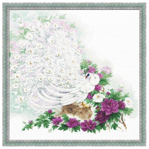 Купить Риолис Набор для вышивания Premium Сад Махараджи 50 х 50 см (100/030), Наборы для вышивания