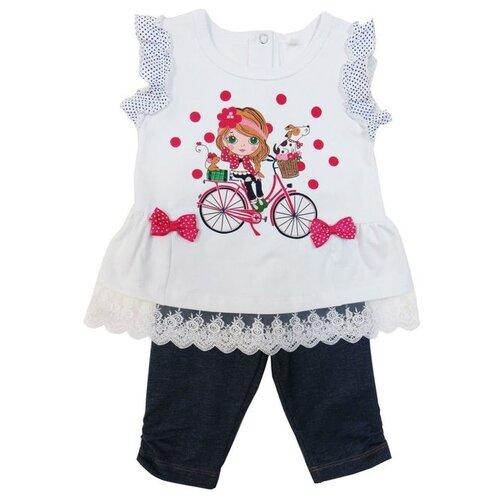 Комплект одежды Sonia Kids размер 92, белый/синийКомплекты<br>