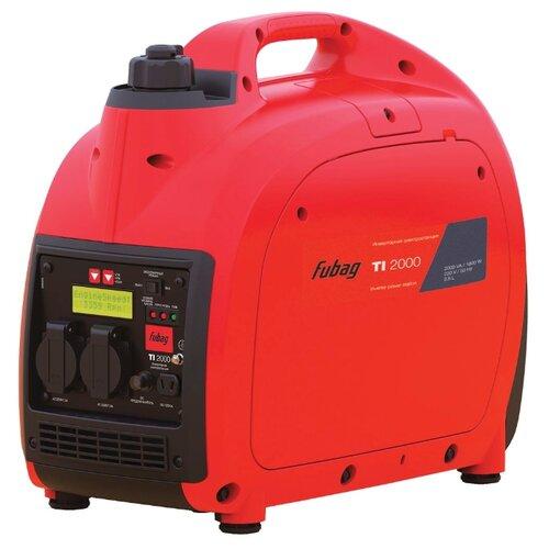 Бензиновый генератор Fubag TI 2000 (838979) (1600 Вт) fubag ti 1000