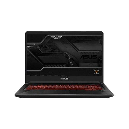 Купить Ноутбук ASUS TUF Gaming FX705DY-AU017T (AMD Ryzen 5 3550H 2100 MHz/17.3 /1920x1080/8GB/512GB SSD/DVD нет/AMD Radeon RX 560X/Wi-Fi/Bluetooth/Windows 10 Home) 90NR0192-M01410 черный
