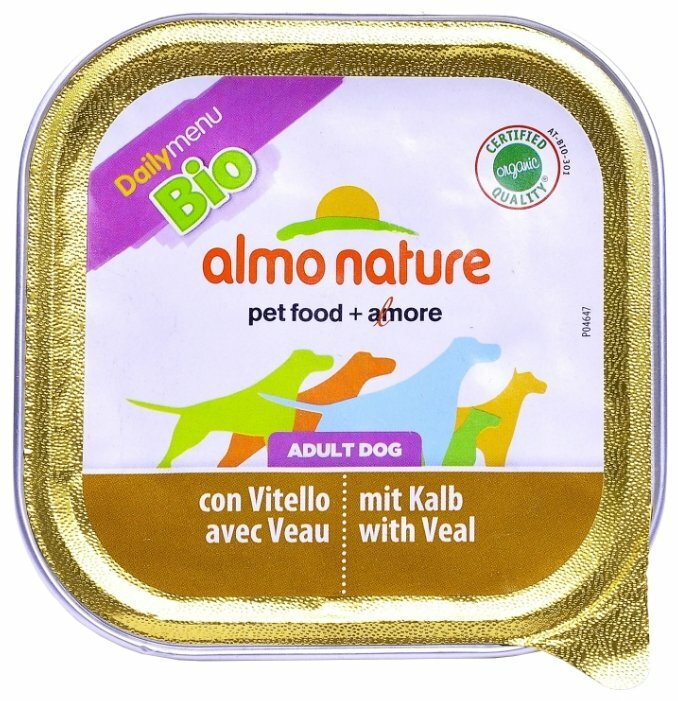 Корм для собак Almo Nature Daily Menu телятина 100г
