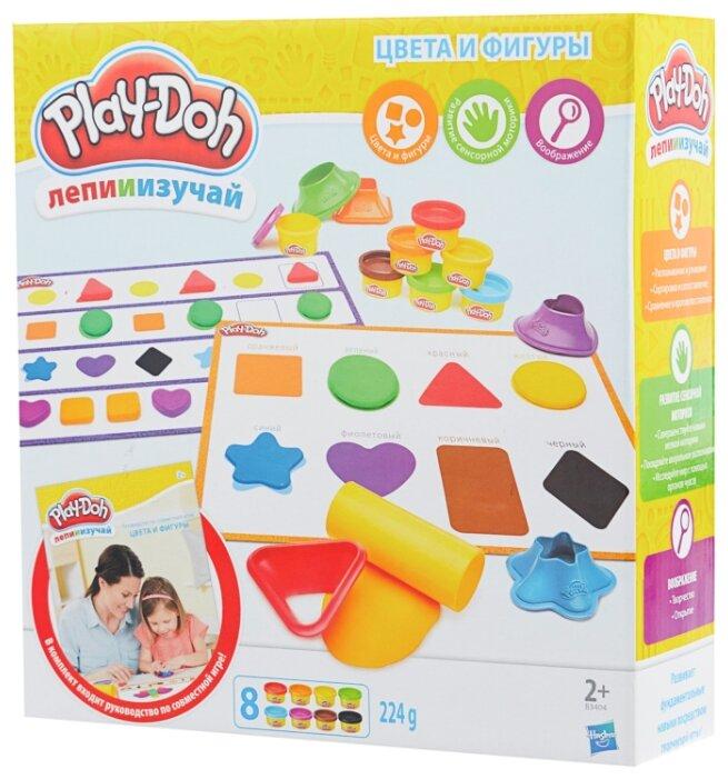 Масса для лепки Play-Doh Цвета и фигуры (B3404)