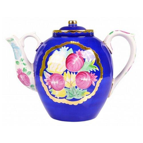 Дулёвский фарфор Заварочный чайник Русский 4,5 л красавица