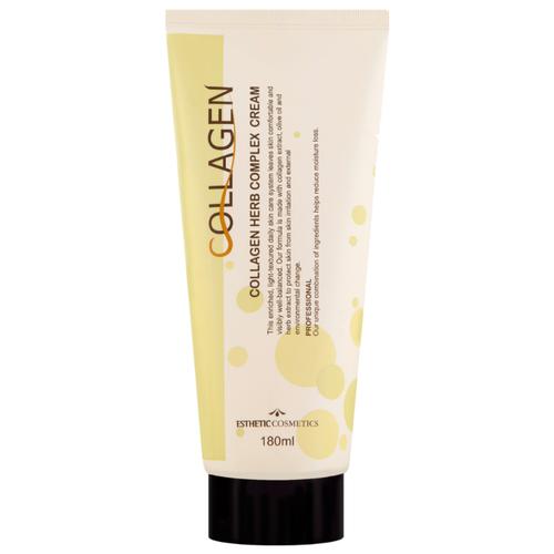 Esthetic House Collagen Herb Complex Cream Крем для лица, 180 мл крем для лица с коллагеном и растительными экстрактами collagen herb complex cream 180мл