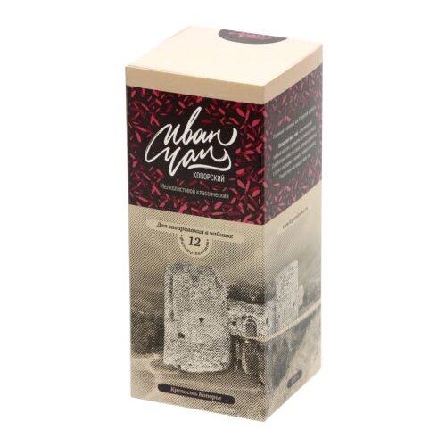 Чай травяной Копорский иван-чай классический в пакетиках для чайника, 12 шт.