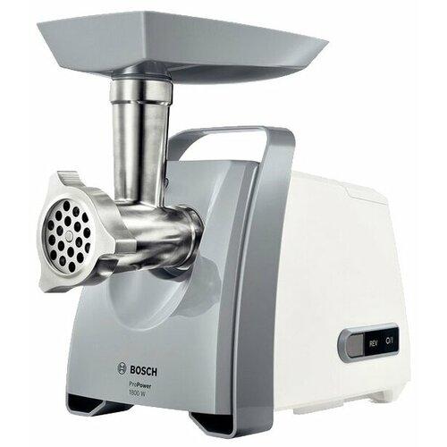 Мясорубка Bosch MFW 66020 белый/серый
