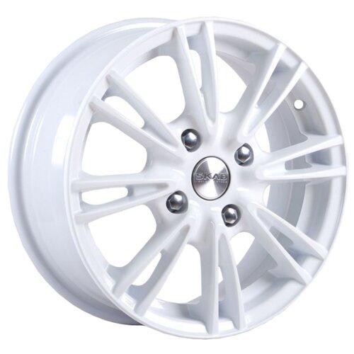Фото - Колесный диск SKAD Пантера 5.5x14/4x100 D67.1 ET39 Белый колесный диск skad веритас 5 5x14 4x100 d67 1 et39 алмаз