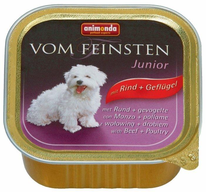 Корм для щенков Animonda Vom Feinsten говядина, печень 150г