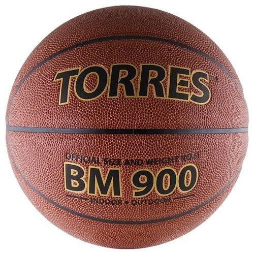 Баскетбольный мяч TORRES B30036, р. 6 коричневый/черный баскетбольный мяч torres b30035 р 5 коричневый черный