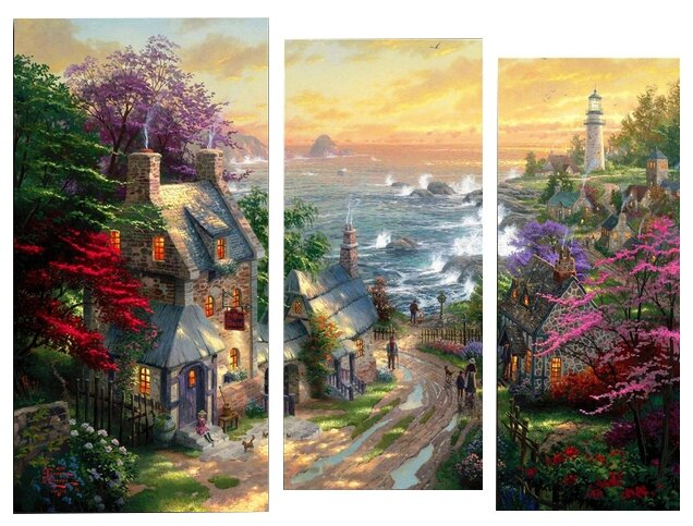 Модульная картина KARTINA style Дорога к морю 115х89 см