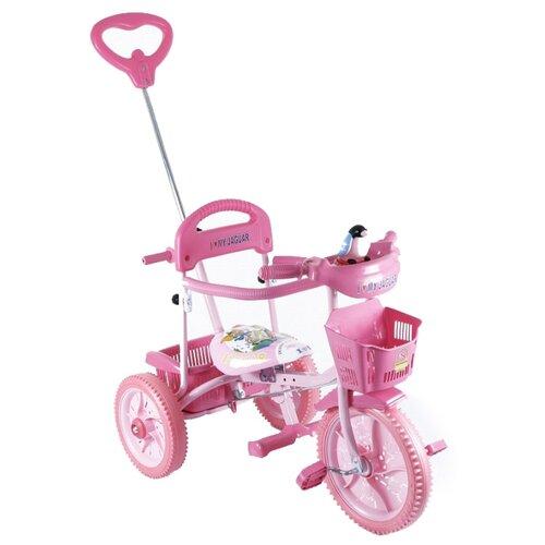Трехколесный велосипед JAGUAR MS-0739 розовый
