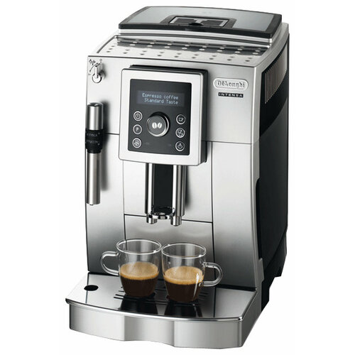 Кофемашина De'Longhi ECAM 23.420 серебристый/черный кофемашина de longhi magnifica s ecam 21 117 серебристый черный