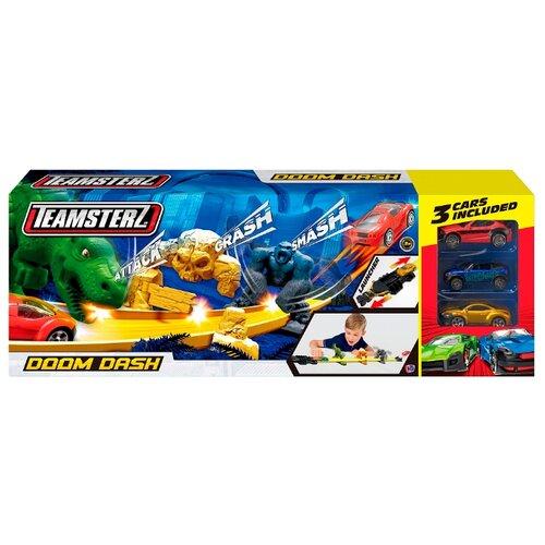 Купить Трек HTI Teamsterz Doom Dash (3 машинки), Детские треки и авторалли