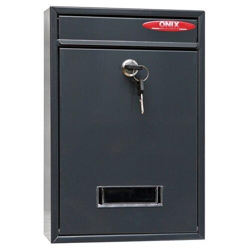 Почтовый ящик ONIX ЯК-1 320х215 мм, серый