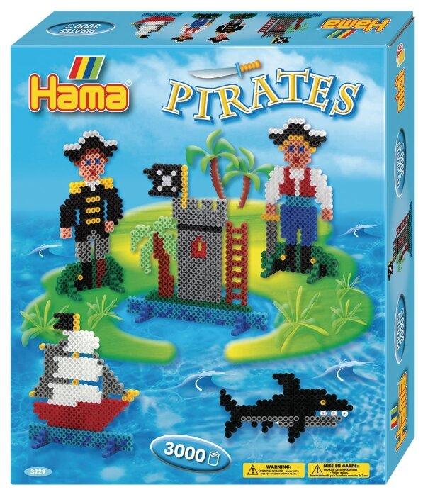 Hama Набор термомозаики Пираты (3229)