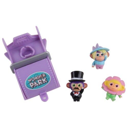Купить Игровой набор Wonder Park Волшебный парк Джун - Вагончик и 3 обезьянки 3 36265, Игровые наборы и фигурки