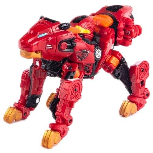Купить Трансформер YOUNG TOYS Metalions Leo красный, Роботы и трансформеры