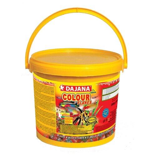 Сухой корм Dajana Pet Colour Flakes для рыб 10000 мл 2000 г