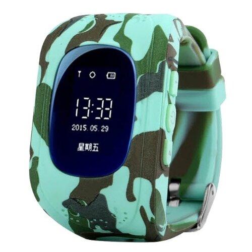 Детские умные часы Smart Baby Watch Q50, оригинальный камуфляж