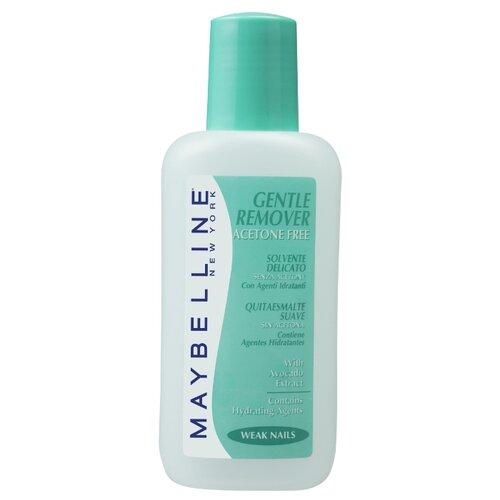 Maybelline Жидкость для снятия лака Gentle Remover с экстрактом авокадо без ацетона 125 млДля снятия лака<br>