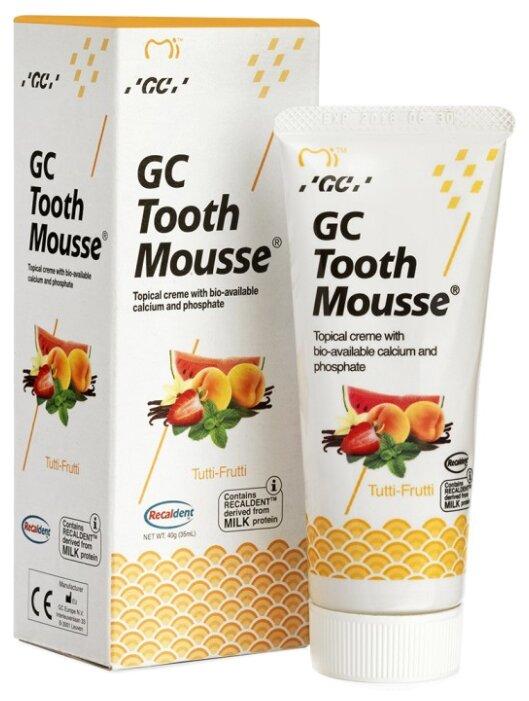 Зубной гель GC Corporation Tooth mousse, мультифрукт 40 г