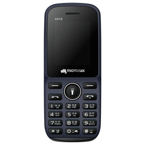 Купить Телефон Micromax X415 синий