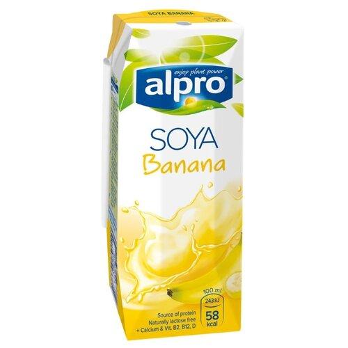 Соевый напиток alpro Банановый 1.8%, 250 млРастительные напитки<br>
